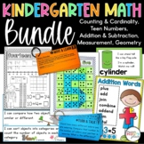 Common Core Kindergarten Math Bundle