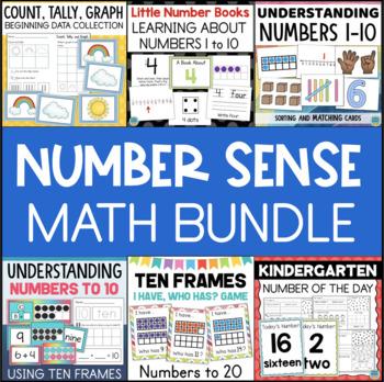 Kindergarten Math Bundle - Counting and Number Sense