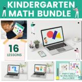 Kindergarten Math Bundle | Digital Lessons, Activities, Pr