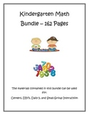 Kindergarten Math Bundle with Common Core Standards