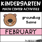 Groundhog Day Math Center Activities for February