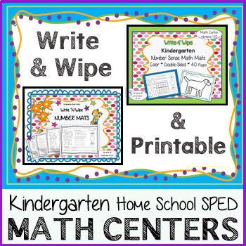 Kindergarten Math Center Bundle: Number Sense