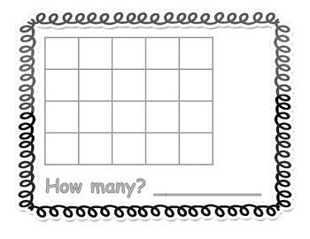 Kindergarten Math Center - Counting Bundle