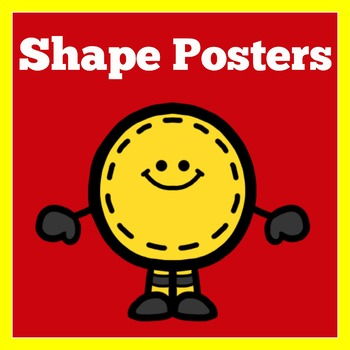 FREE SHAPES POSTERS - GREEN APPLE LESSONS