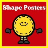 Shape Posters | Preschool Kindergarten 1st Grade | Shapes