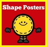 Shape Posters Kindergarten
