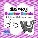 Kindergarten / First Grade Math Center Game - Stinky Numbe