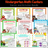 Kindergarten Math Center Games and Activities Bundle