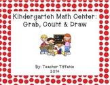 FREEBIE Kindergarten Math Center: Grab, Count & Draw