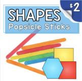 Kindergarten Math Center - Problem Solving - Popsicle Stic