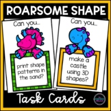 Kindergarten Math Center: SHAPE Task Cards