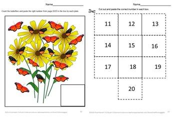Butterflies Preschool, Counting Activities Kindergarten,Special Education Math