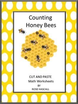 Honey Bees,Counting Activities Preschool,Counting Activiti