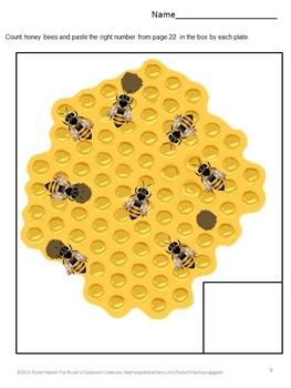 Honey Bees,Counting Activities Preschool,Counting Activities Kingergarten,Summer