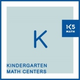 Kindergarten Math Centers for the Entire School Year