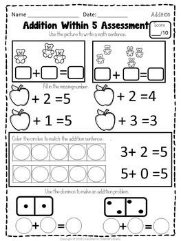 original 4086026 4 - Math Centers Kindergarten