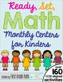 Kindergarten Math Centers BUNDLE