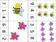 Kindergarten Math Centers: Bees