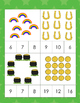 Kindergarten Math Centers - Count and Clip Cards - St. Pat