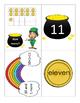 Kindergarten Math Centers - Decomposing 11-19 - St Patricks Day Theme
