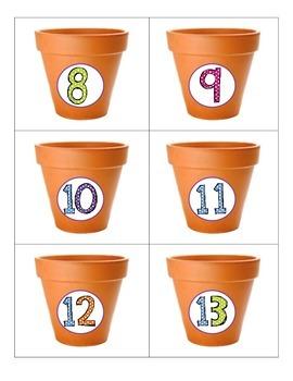 Kindergarten Math Centers - Decomposing and Number Bonds