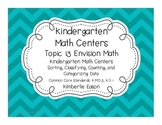 Kindergarten Math Centers (Envision Math Topic 13)
