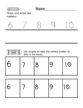 Kindergarten Envision Math Topic Three Centers