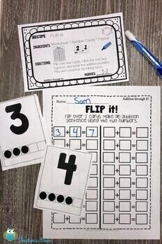 Kindergarten Math Centers YEARLONG BUNDLE