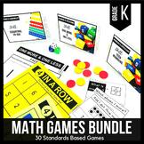 Kindergarten Math Centers | Kindergarten Math Games BUNDLE