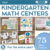 Kindergarten Math Centers MEGA Bundle