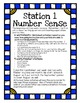 Kindergarten Math Centers Made Easy-September Number Sense