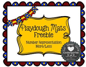 Kindergarten Math Centers Made Easy-September PlayDough Ma