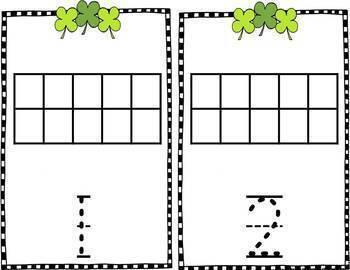 Kindergarten Math Centers--March