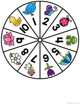Kindergarten Math Centers May