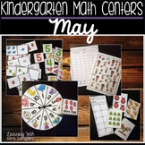 Kindergarten Math Centers May