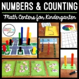 Kindergarten Math Centers - Numbers and Counting 0-10