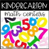 CCSS Kindergarten Math Centers
