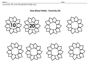 Kindergarten Math Centers: Spring