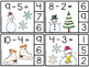 Kindergarten Math Centers - Subtracting Numbers 1-20