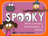 Kindergarten Math Centers, Worksheets & MORE {October}