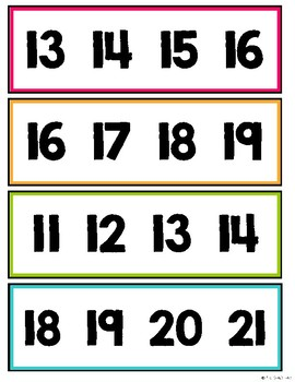 Kindergarten Math Centers for Month 5