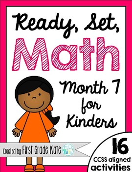 Kindergarten Math Centers for Month 7