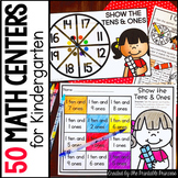 Kindergarten Math Centers: Year Long Activities
