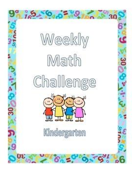 Kindergarten Math Challenges