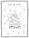 Kindergarten Math Christmas Set