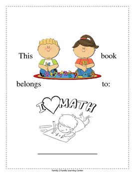 Kindergarten Math Coloring Book
