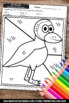 Kindergarten Math Coloring Pages, Counting to 10 Worksheets, SPS