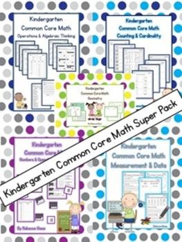 Kindergarten Math {Common Core Bundle}