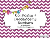 Kindergarten Math Common Core - Compose and Decompose Numbers K.NB.T.1