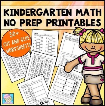 Kindergarten Math Worksheets | Math Worksheets Kindergarten with BOOM CARDS